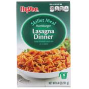 Hy-Vee Hamburger Lasagna Dinner Pasta & Tomato Sauce Mix Skillet Meal