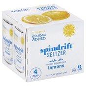 Spindrift Seltzer, Lemons