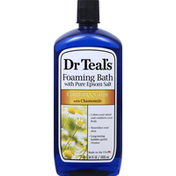 Dr. Teal's Foaming Bath, Comfort & Calm, with Chamomile