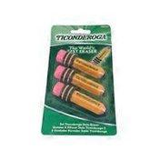 Ticonderoga Noir Pencil Shape Erasers