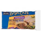Baja Cafe Assorted Bean & Cheese/Beef & Bean/Hot Beef 18 Ct Burritos