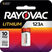 Rayovac 123A Batteries, 123A Lithium Batteries