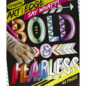 Crayola Coloring Pages, Art with Edge