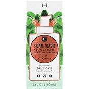 L. Fragrance Free Daily Care Foaming Wash