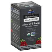 Garden of Life Memory & Focus, for Young Adults, Tablets