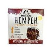 Smiling Hara Tempeh Soy-Free Hempeh Tempeh Raspberry Habanero BBQ