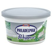 Kraft Philadelphia Cream Cheese Spread, Whipped, Garlic 'N Herb