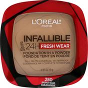 L'Oreal Foundation, Fresh Wear, Radiant Sand 250