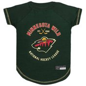 Pets First Small Minnesota Wild Tee Shirt for Dogs & Cats