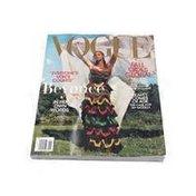 Vogue Monthly Fashion Magazine