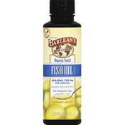 Barlean's Omega Swirl, Fish Oil, Lemon Zest
