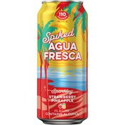 Golden Road Brewing Spiked Agua Fresca Strawberry Pineapple Beer Cans