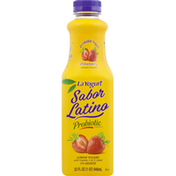 La Yogurt Drinkable Yogurt, Lowfat, Strawberry