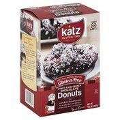 Katz Donuts, Gluten Free, Candy Cane Crunch Chocolate