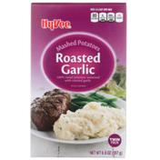 Hy-Vee Roasted Garlic 100% Russet Mashed Potatoes Seasoned With Roasted Garlic