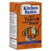 Kitchen Basics Turkey Cooking Stock, Natural