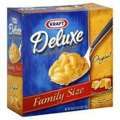 Kraft Macaroni & Cheese Dinner, with Original Cheddar Cheese Sauce, Family Size