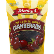 Mariani Dried Cranberries, Sweetened, Premium