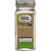 Nature's Promise Cardamom, Organic, Jar