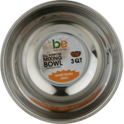 Basic Essentials Mixing Bowl, All Purpose, Stainless Steel, 3 Quart