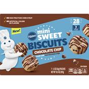 Pillsbury Biscuits, Chocolate Chip, Mini Sweet, 7 Pack