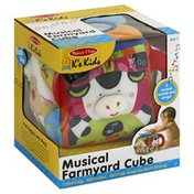 Melissa & Doug Toy, Musical Farmyard Cube
