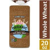 Oroweat Organic 100% Whole Wheat Thin-Sliced Bread