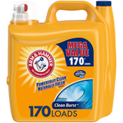 Arm & Hammer Concentrated Clean Burst Liquid Laundry Detergent
