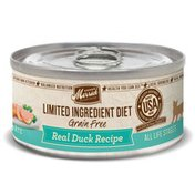 Merrick Limited Ingredient 24 Count Diet Real Duck Recipe Canned Cat Food