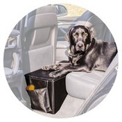 Pet Therapeutics Black OrthoPetic Sturdy Backseat Extender With Storage