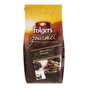 Folgers Gourmet Selections Ground Coffee Mocha Swirl