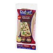 Flatout Flatbread Thin Crust Flatbreads Artisan Pizza Heritage Wheat - 6 CT