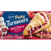Pillsbury Real Cherry Flaky Turnovers
