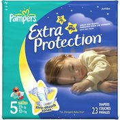 Pampers Extra Protection Jumbo Pack Size 5 Diapers