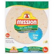 Mission 95% Fat Free Large Burrito Flour Tortillas