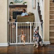 You & Me Extra Wide Gate With Small Pet Door