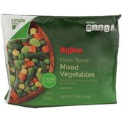 Hy-Vee Fresh Steam Mixed Vegetables Carrots, Corn, Peas, Green Beans & Lima Beans