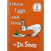 Dr Seuss Book, Green Egss and Ham