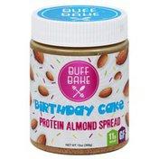 Buff Bake Spread, Protein Almond, Birthday Cake