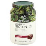 PlantFusion Complete Protein, Red Velvet Cake