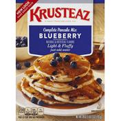 Krusteaz Pancake Mix, Complete, Blueberry