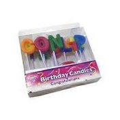 Bakery Congratulations Party Candles