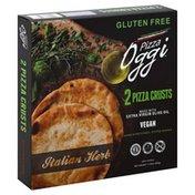 Oggi Pizza Crusts, Gluten Free, Italian Herb