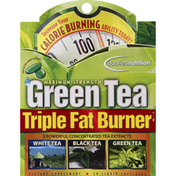 Applied Nutrition Triple Fat Burner, Green Tea, Maximum Strength, Liquid Soft-Gels