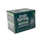 Irish Spring Bar Soap - Charcoal
