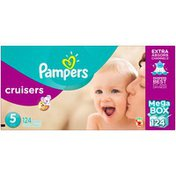 Pampers Cruisers Pampers Cruisers Diapers Size 5 124 count Diapers