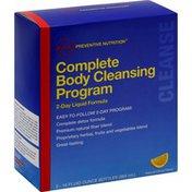 GNC Body Cleansing Program, Complete, Cleanse, Natural Citrus Flavor