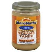 Maranatha Tahini, Roasted Sesame, with Salt, Creamy