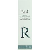 Rael Feminine Wash, Foaming, Natural