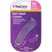 TopCare Gel Heel Liners, Women